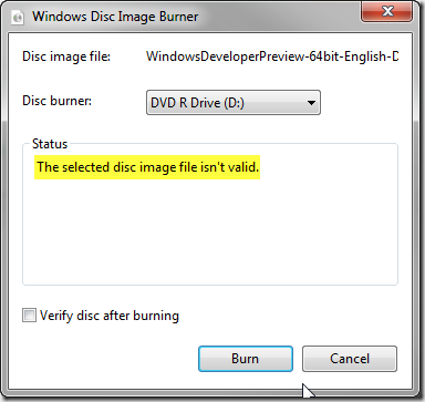 WindowsDiskImageBurner
